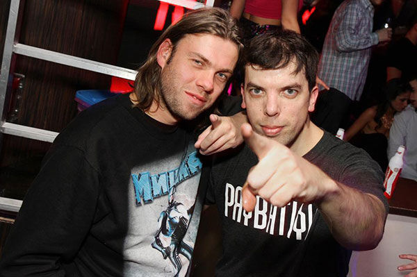 Paul Bäumer from the Bingo Players spotted in Proletariat!