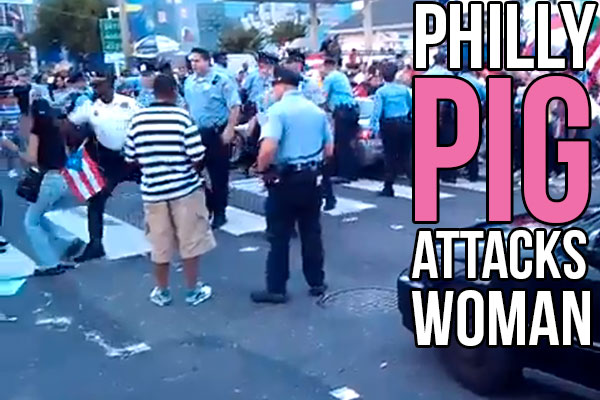 Philadelphia Cop Punches Woman at Parade-Video