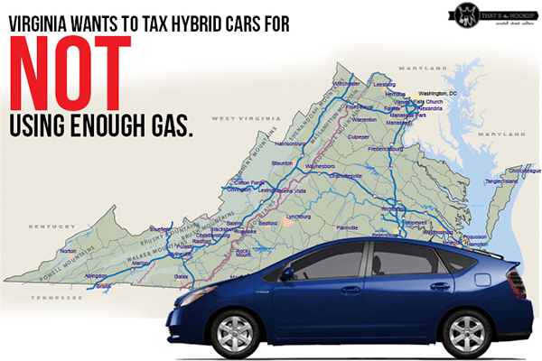 Virginia Governor wants opposite of gas guzzler tax