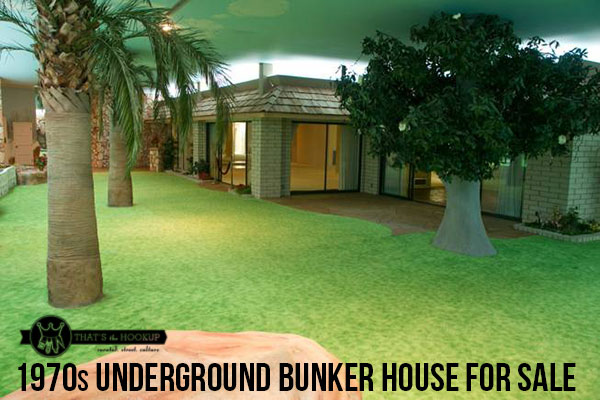 Awesome 1970's Underground House Bunker for Sale