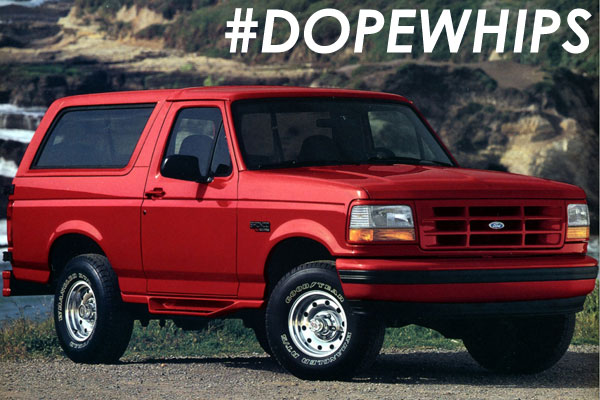 1996 Ford Bronco Review