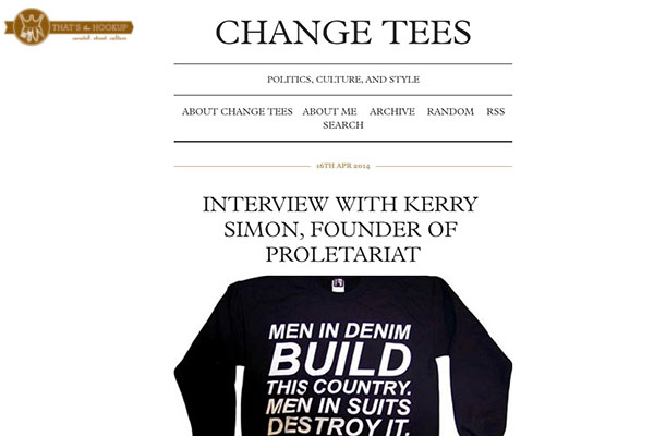 Interview with Change Tees